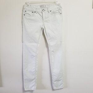 Free People White Corduroy Jeans Size 31